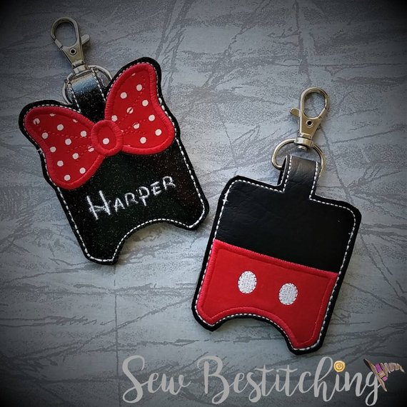 Mickey Minnie Hand Sanitizer Holder Hand Sanitizer Holder Hand