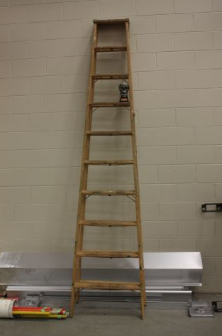 10 Foot Wooden Step Ladder Old Style Wooden Steps Step Ladders Old Doors