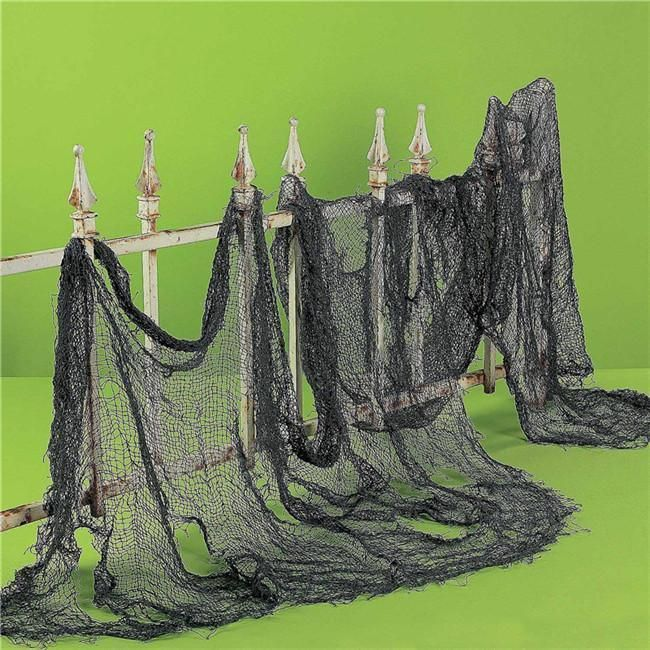 307AUD - Scary Net Web Party Halloween Yard Patio Haunted Home Bar - halloween club decorations