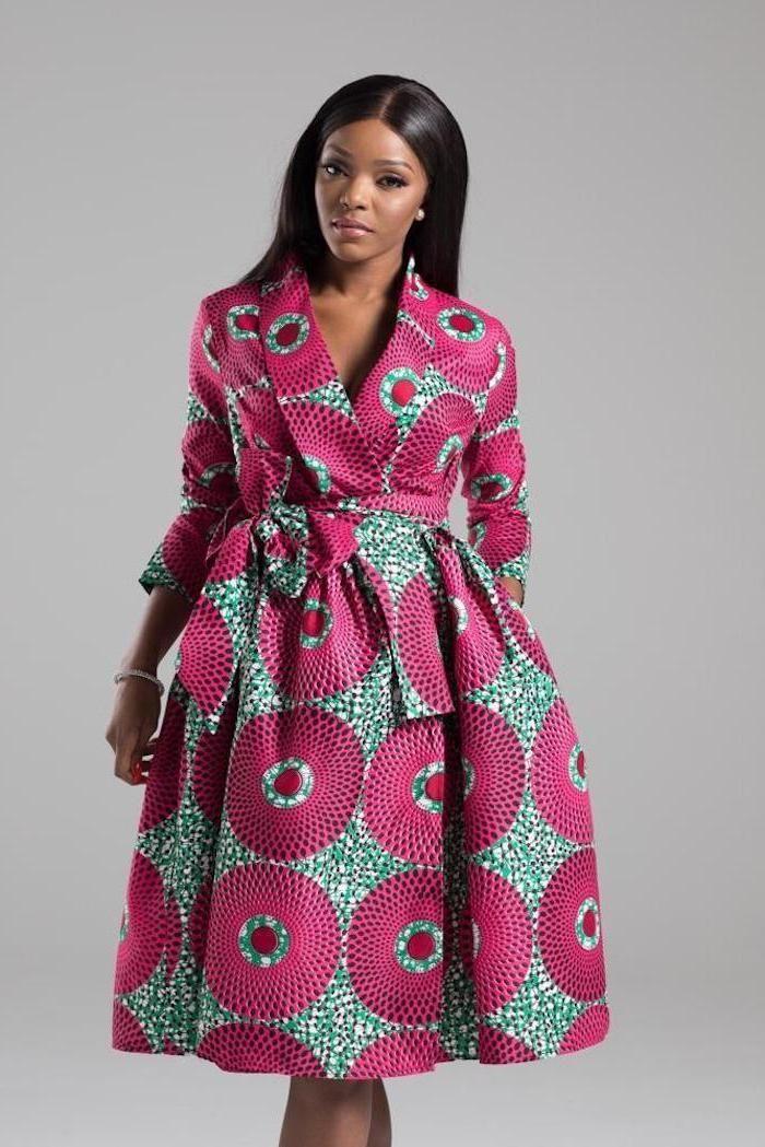 Robe africaine chic 2017 tenue africaine femme tendance #ankaramode