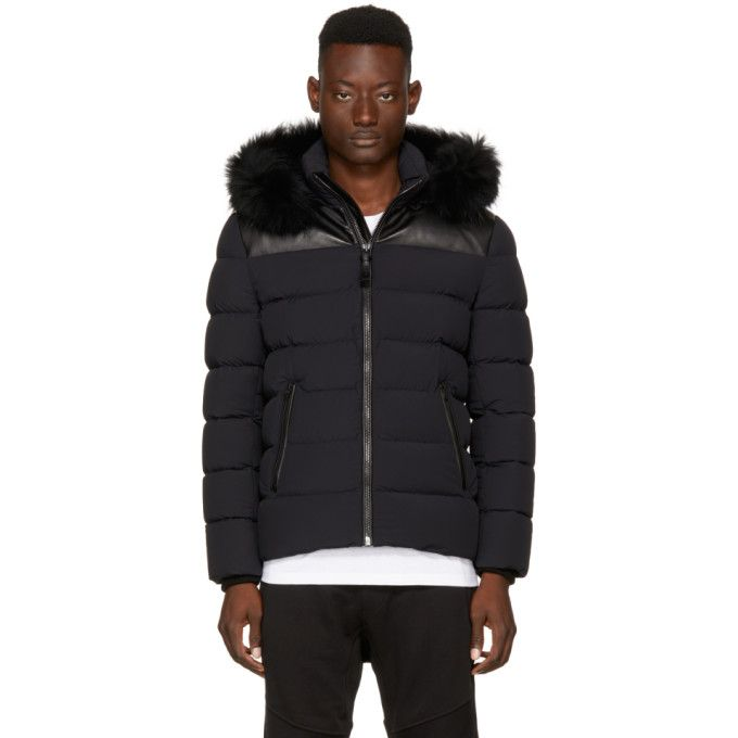 69175876f2e0 MACKAGE SSENSE Exclusive Black Down Ronin Jacket.  mackage  cloth ...
