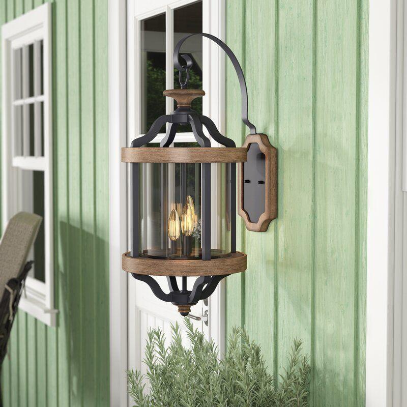 Elisabetta 3light outdoor wall lantern in 2020 wall
