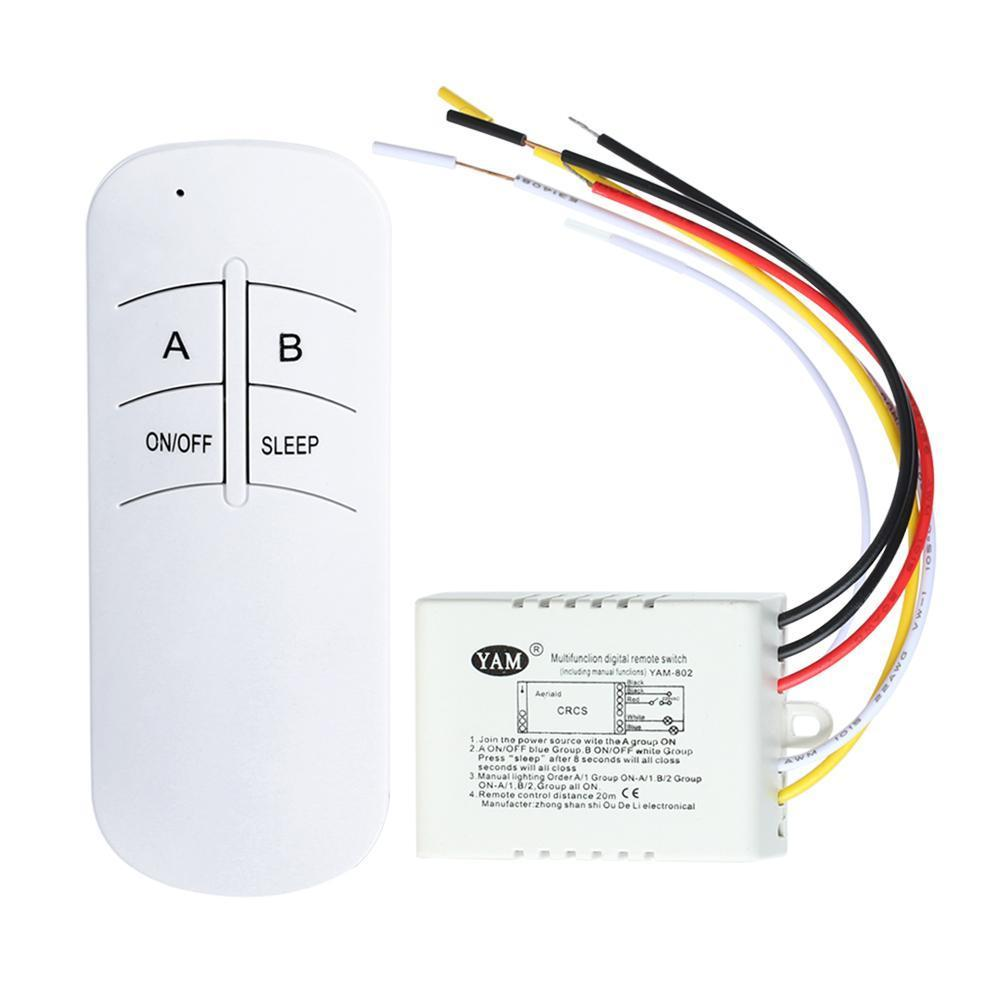 4 65 Aud 1 3 Way 220v On Off Lamp Light Wireless Remote Control Switch Reciever Emitter Ebay Electronics Remote Cool Things To Buy Lamp Light