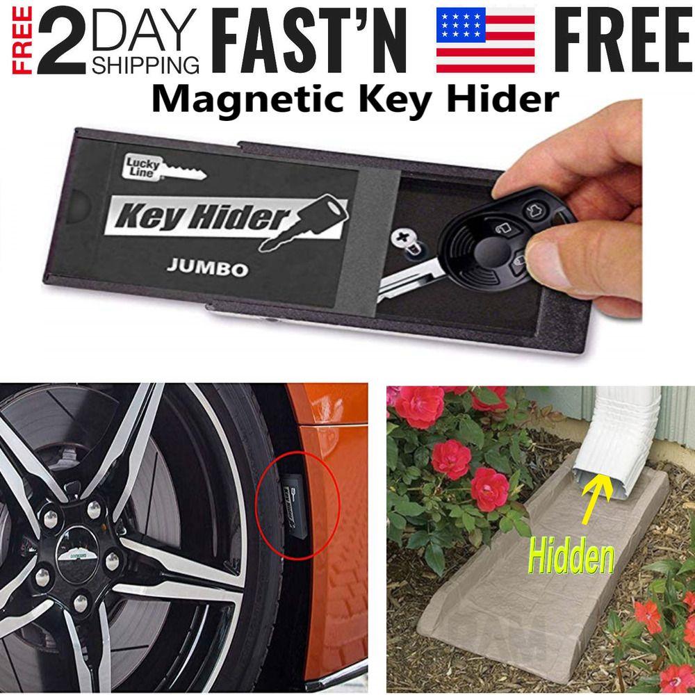 Master Lock Magnetic Car Key Holder Box Outside Secret Stash Safe Case NEW UK