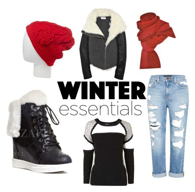 """Winter6"" by daniela-davis on Polyvore featuring Genetic Denim, Topshop, Prabal Gurung and Pop Fashionwear"