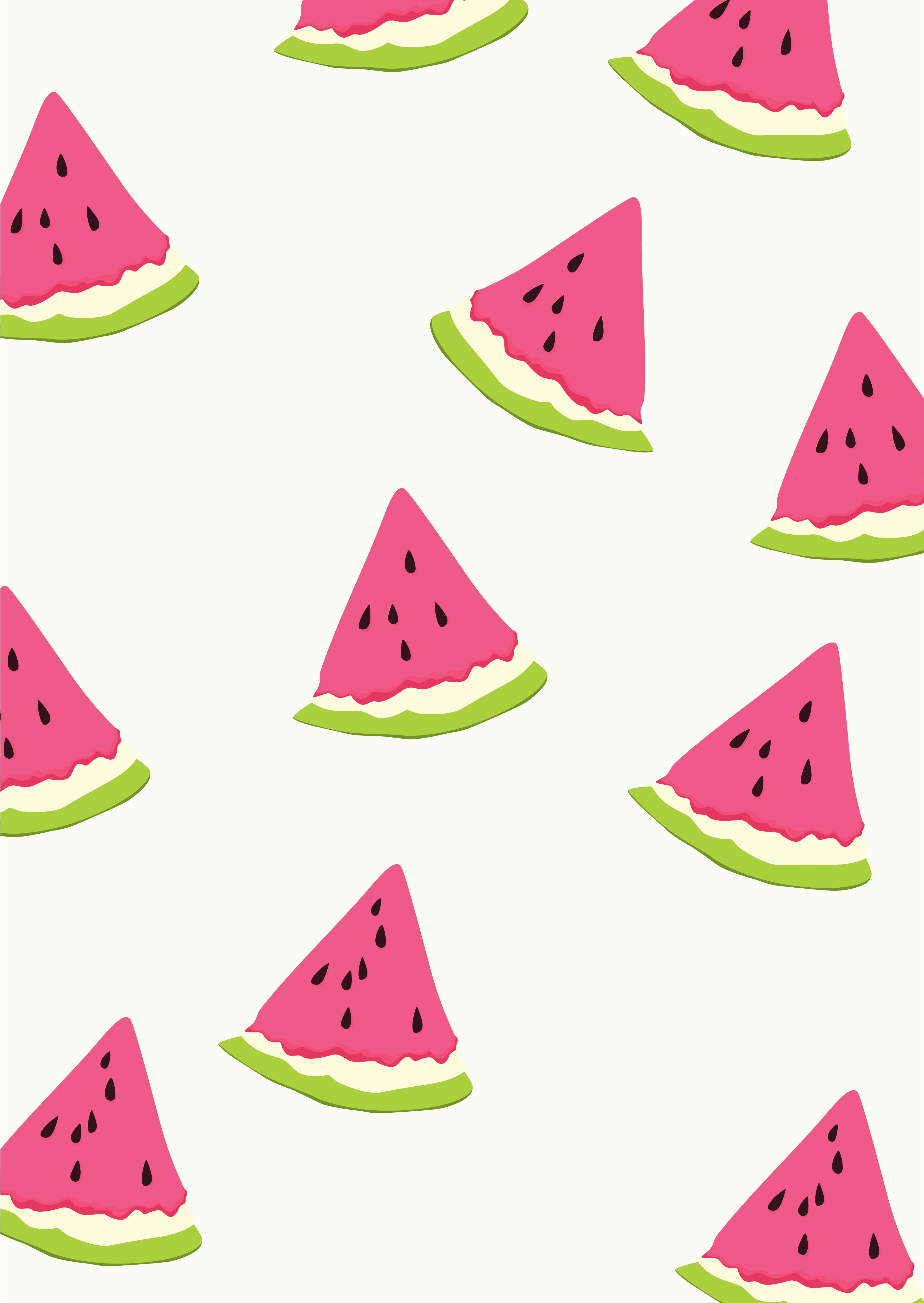 Sweet watermelon pattern art Watermelom pattern