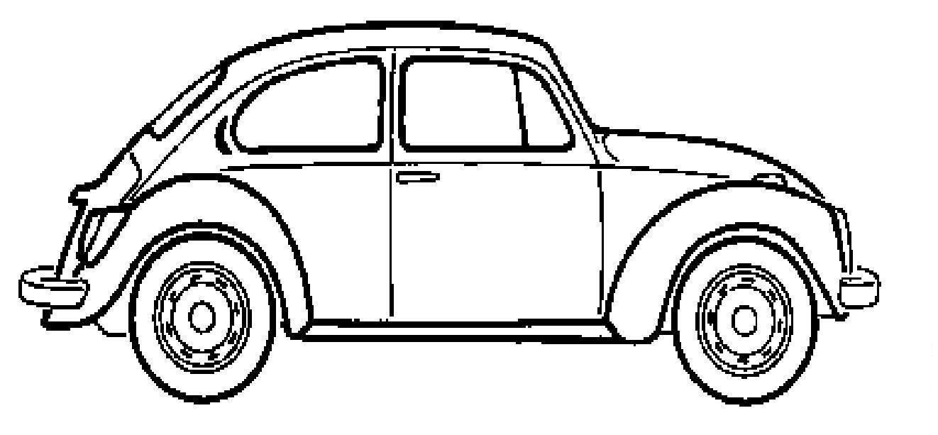 carro-fusca-para-colorir.jpg (1322×613) | coloring 5 | Pinterest ...
