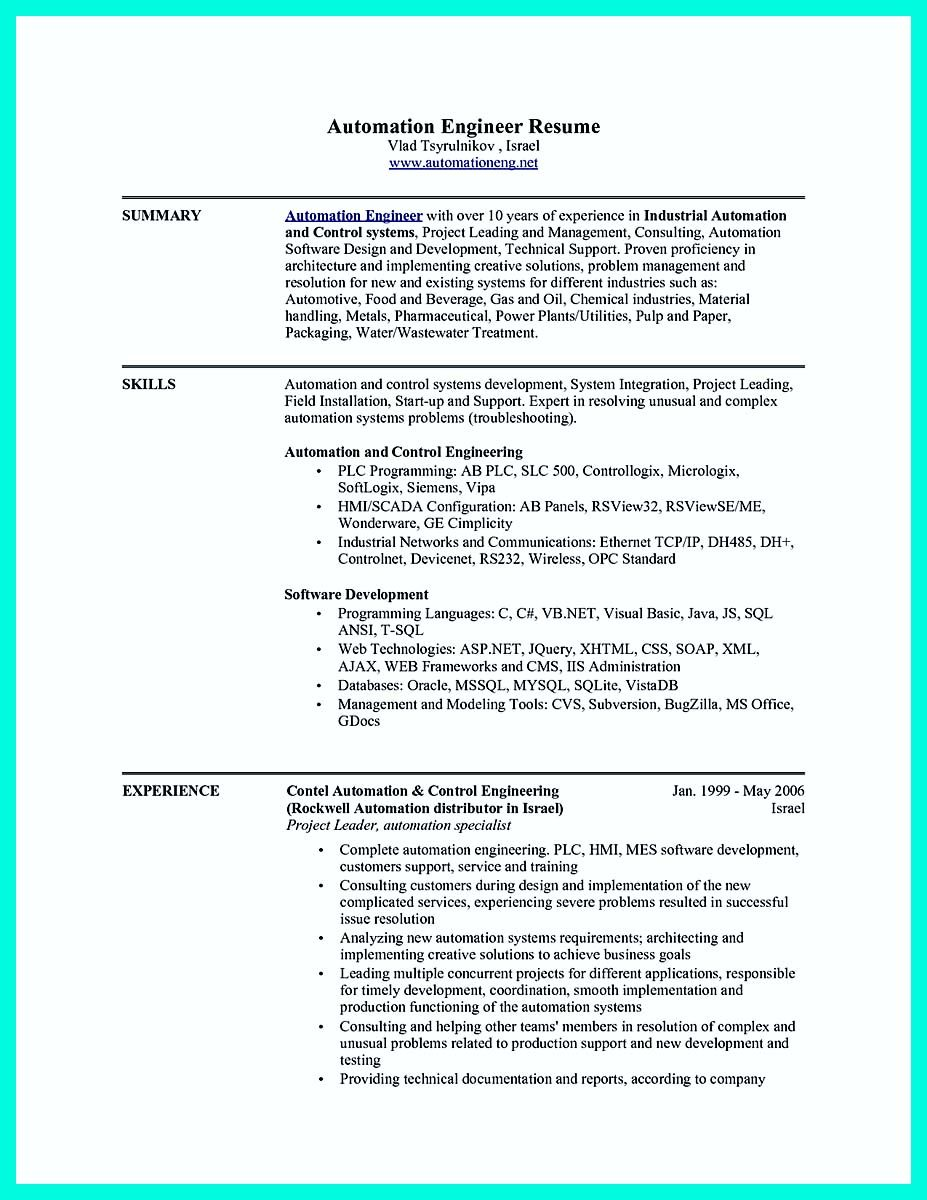 cool The Perfect Computer Engineering Resume Sample to Get Job Soon ...