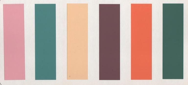 Japanese Colour Palette Color Palettes Pinterest Color Schemes