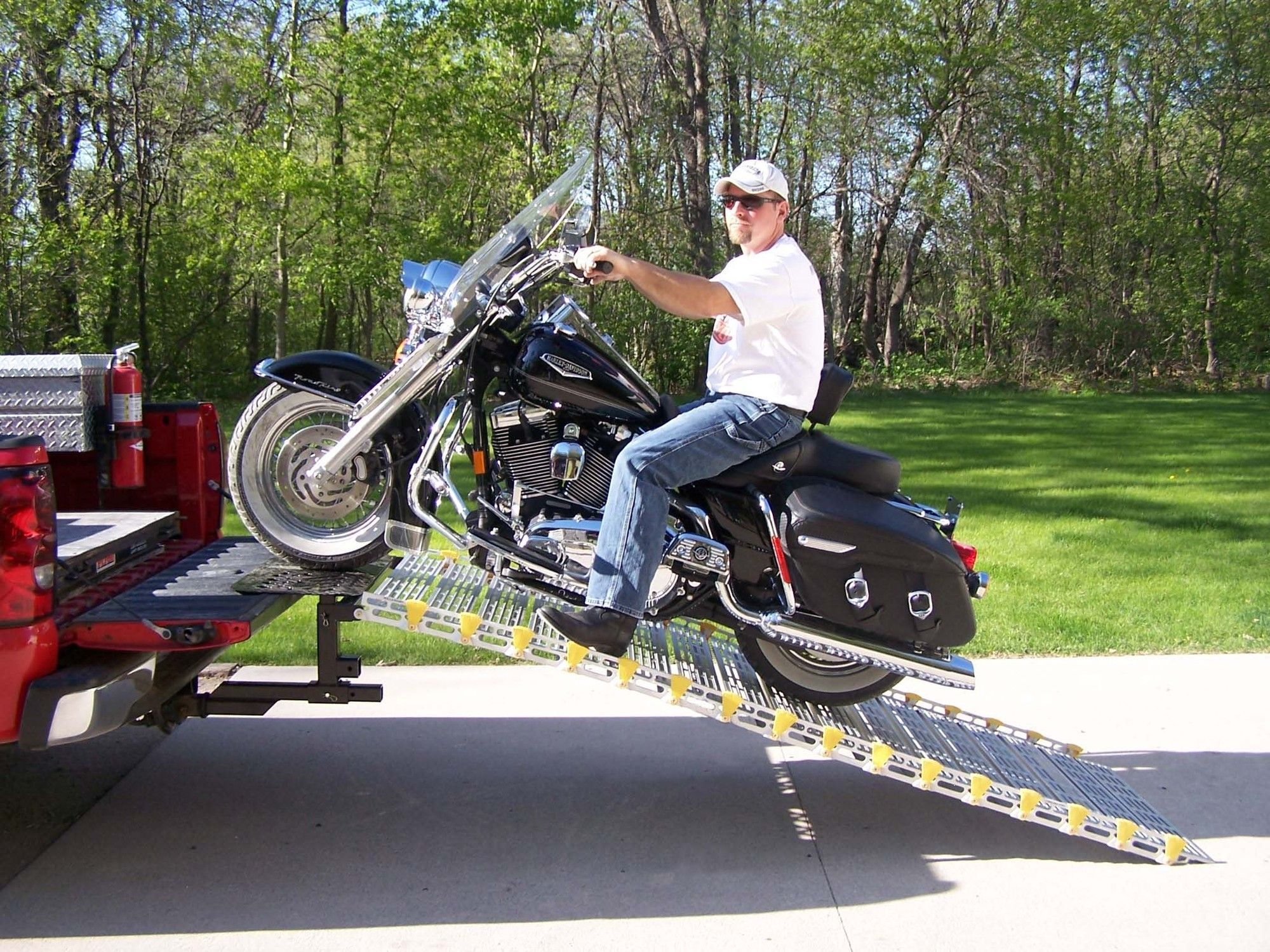 Motorcycle Ramp System