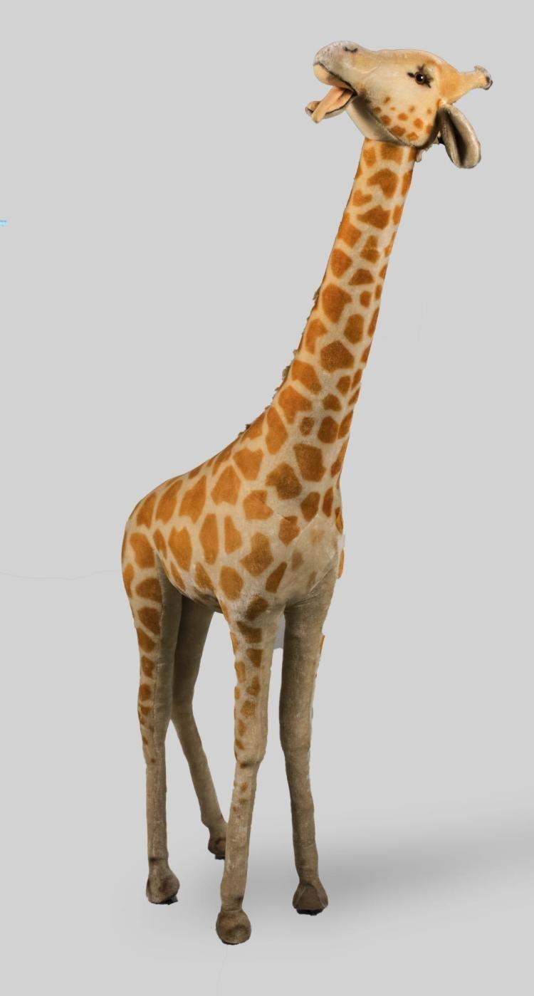 Sold Price Steiff Giraffe October 6 0117 11 00 Am Edt Steiff Giraffe Animals [ 1399 x 750 Pixel ]