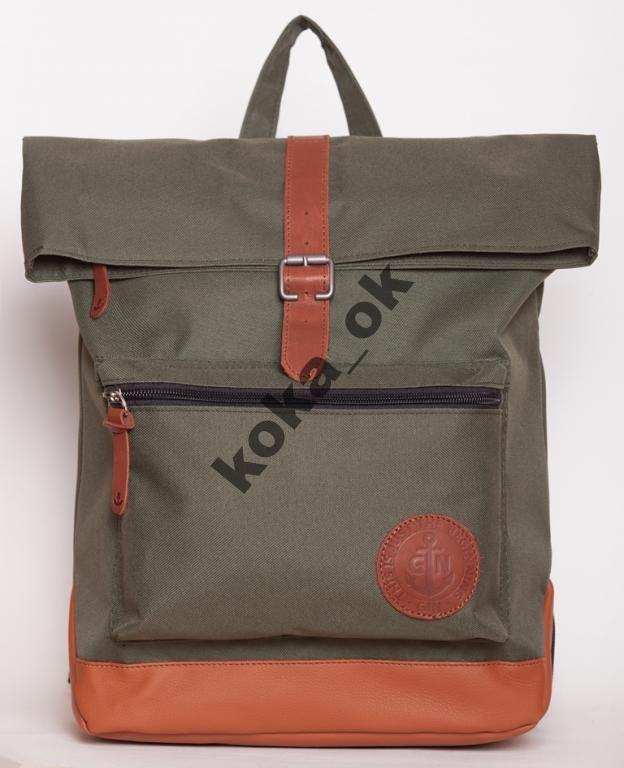 1c40743faf87 Рюкзак городской молодежный GIN Лонг Айленд хаки | ОЧумелые ручки ...