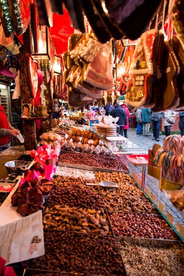 Countless sweet treats to be found at Nuremberg's famous