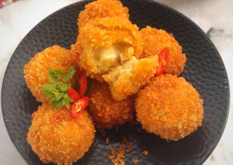Resep Pom Pom Potato Pr Cemilanjamannow Oleh Nia Bayens Resep Makanan Resep Masakan Resep Makanan