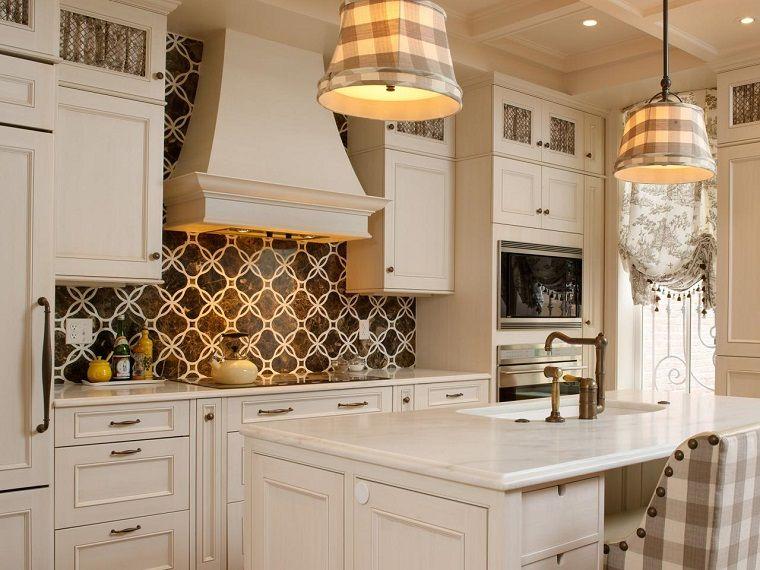 Panel de cocina: 50 ideas para la pared de la cocina   Ideas para la ...