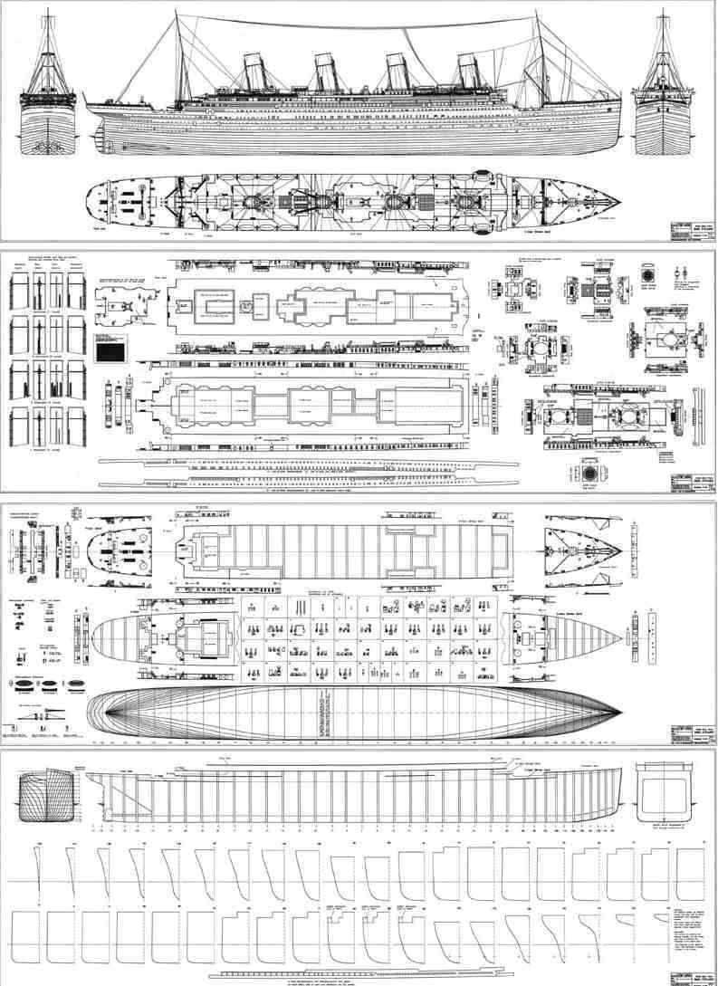 Blueprints of the ship of dreams titanic pinterest titanic blueprints of the ship of dreams malvernweather Choice Image