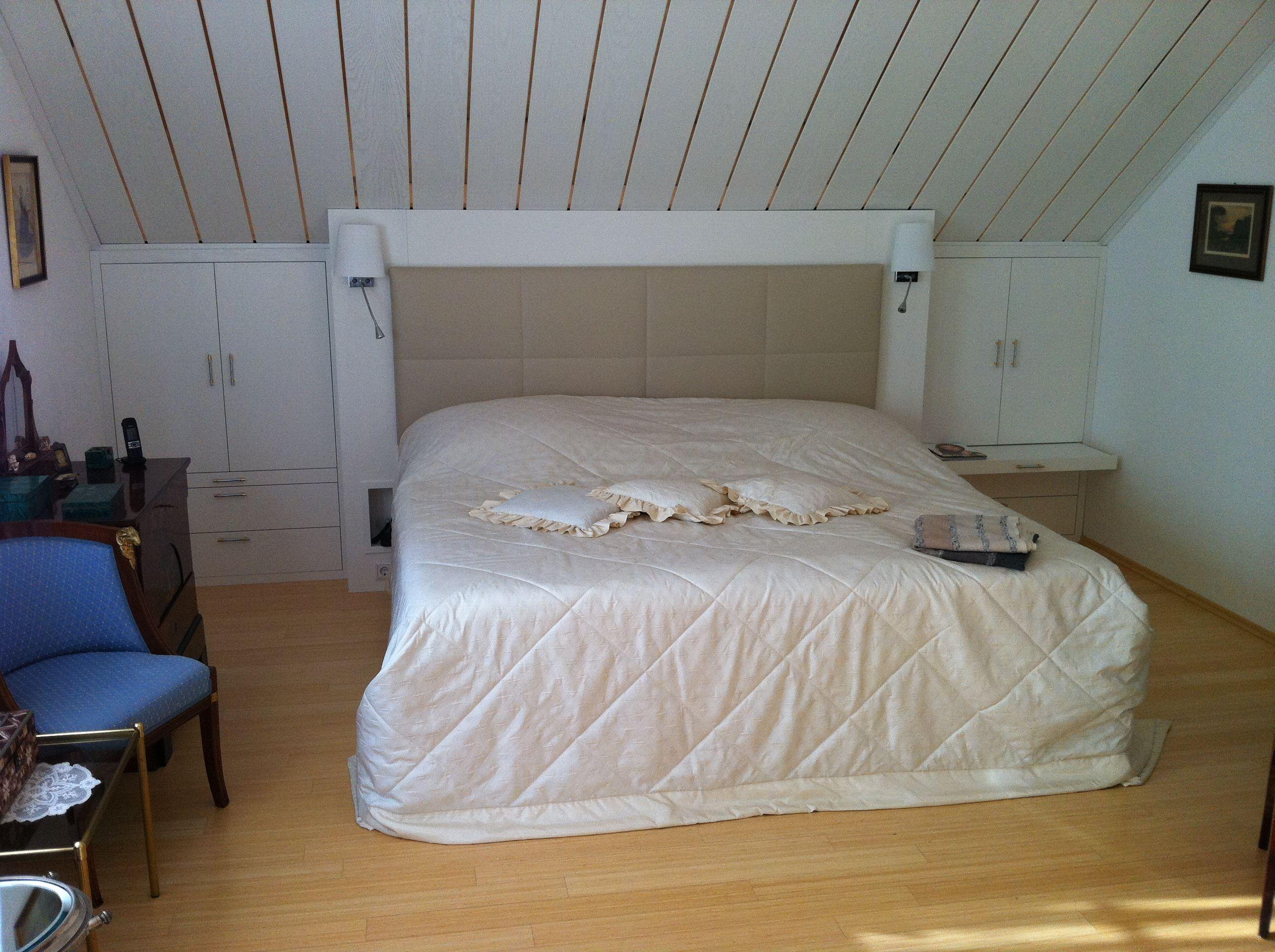 Klicken Zum Schliessen Schlafzimmer Dachschräge Bett