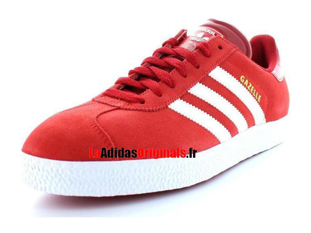 Adidas Gazelle boutique rouge