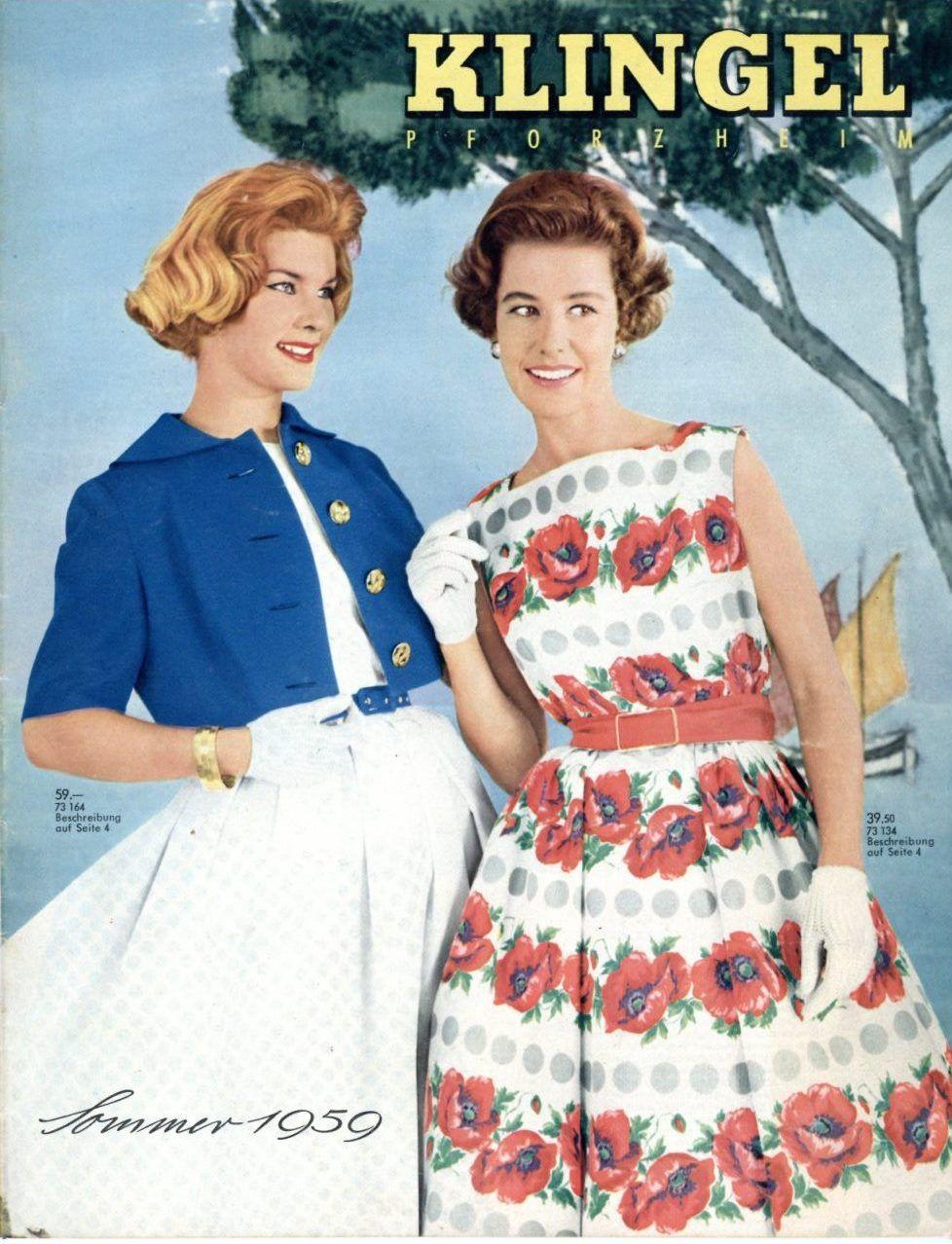 wie die mode 1959 aussah unser klingel katalog von damals. Black Bedroom Furniture Sets. Home Design Ideas