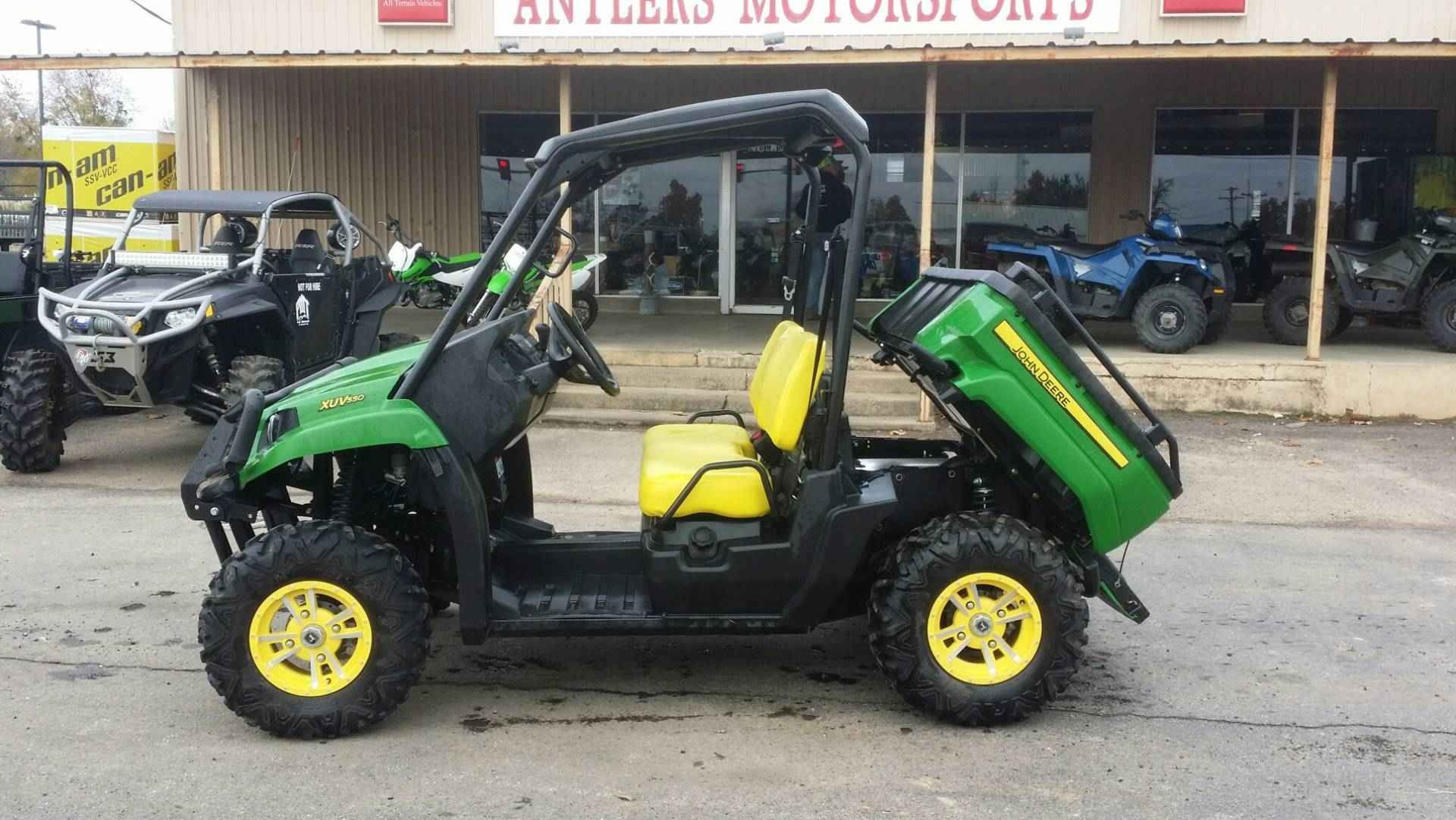 Used 2013 John Deere Gator™ XUV 550 ATVs For Sale in Oklahoma The