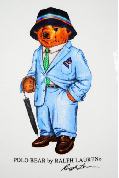 Ralph Lauren Gentleman S Essentials Ralph Lauren Menswear Bear Illustration Polo Design
