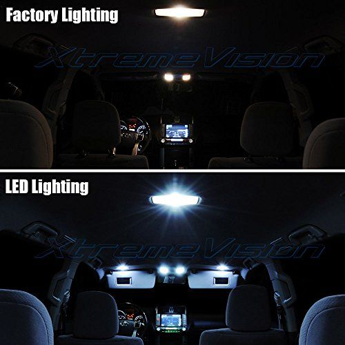 Jk Jeep Wrangler White Interior Led Light Kit Package With