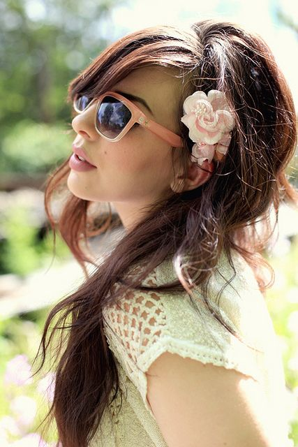 Lovely hairstyle (: