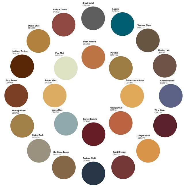 Image Gallery earthy colors