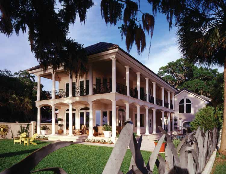 French quarter style homes new orleans home design for Orleans home builders floor plans