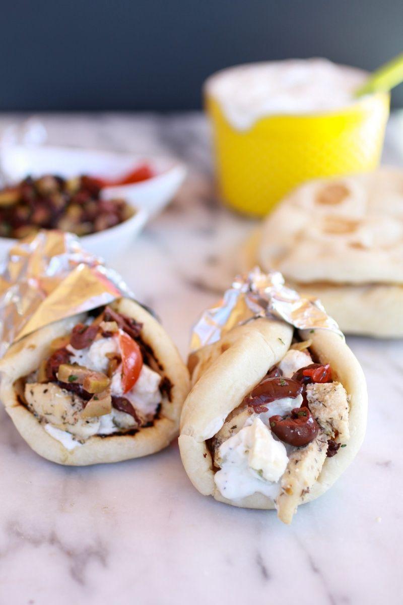 Greek Chicken Gyros Recipe Recipes Food Chicken Gyros