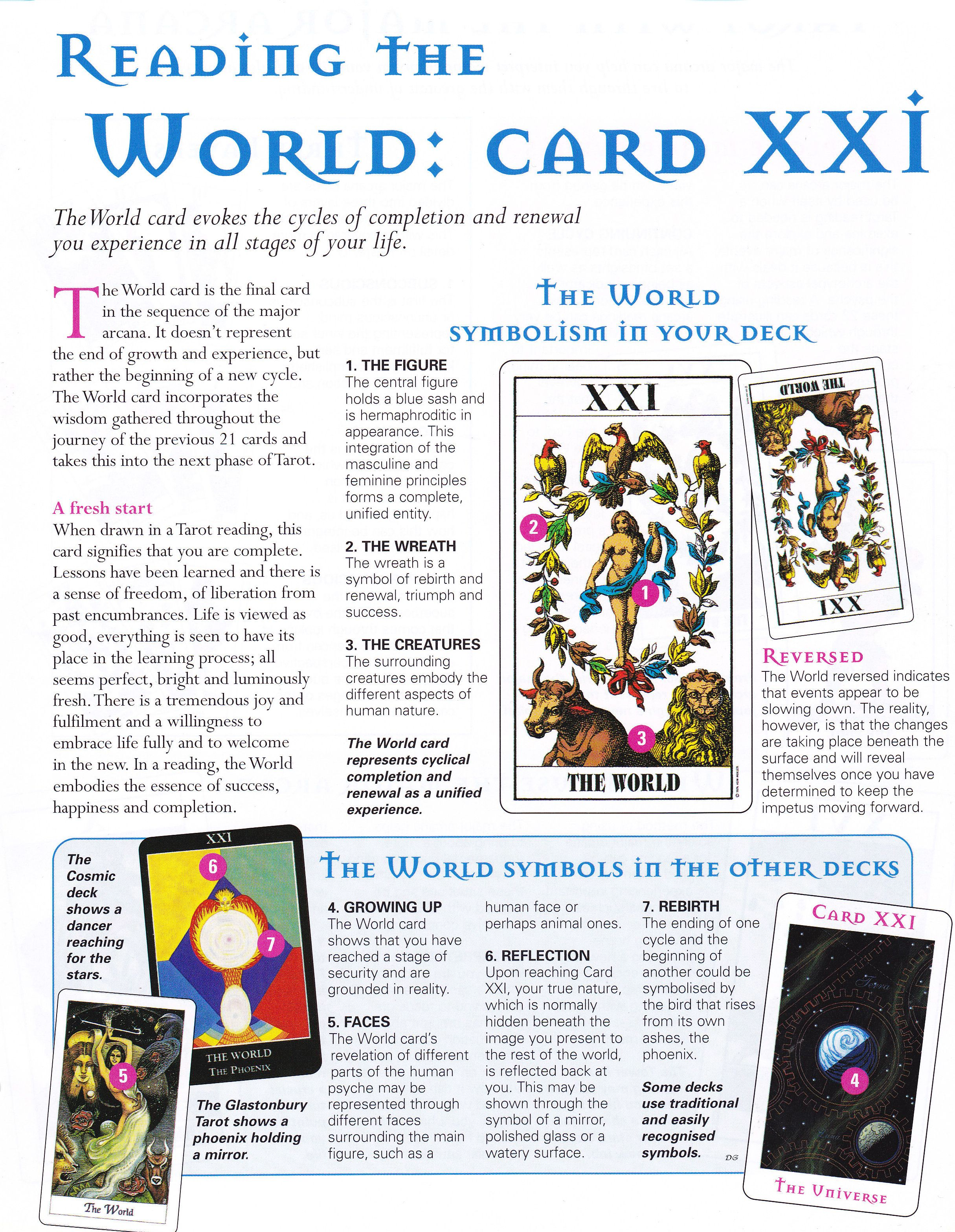 Reading The World Card