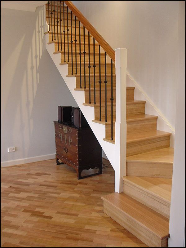 Single Winder Staircase Timber Stair Interior Stairs Stairs Design