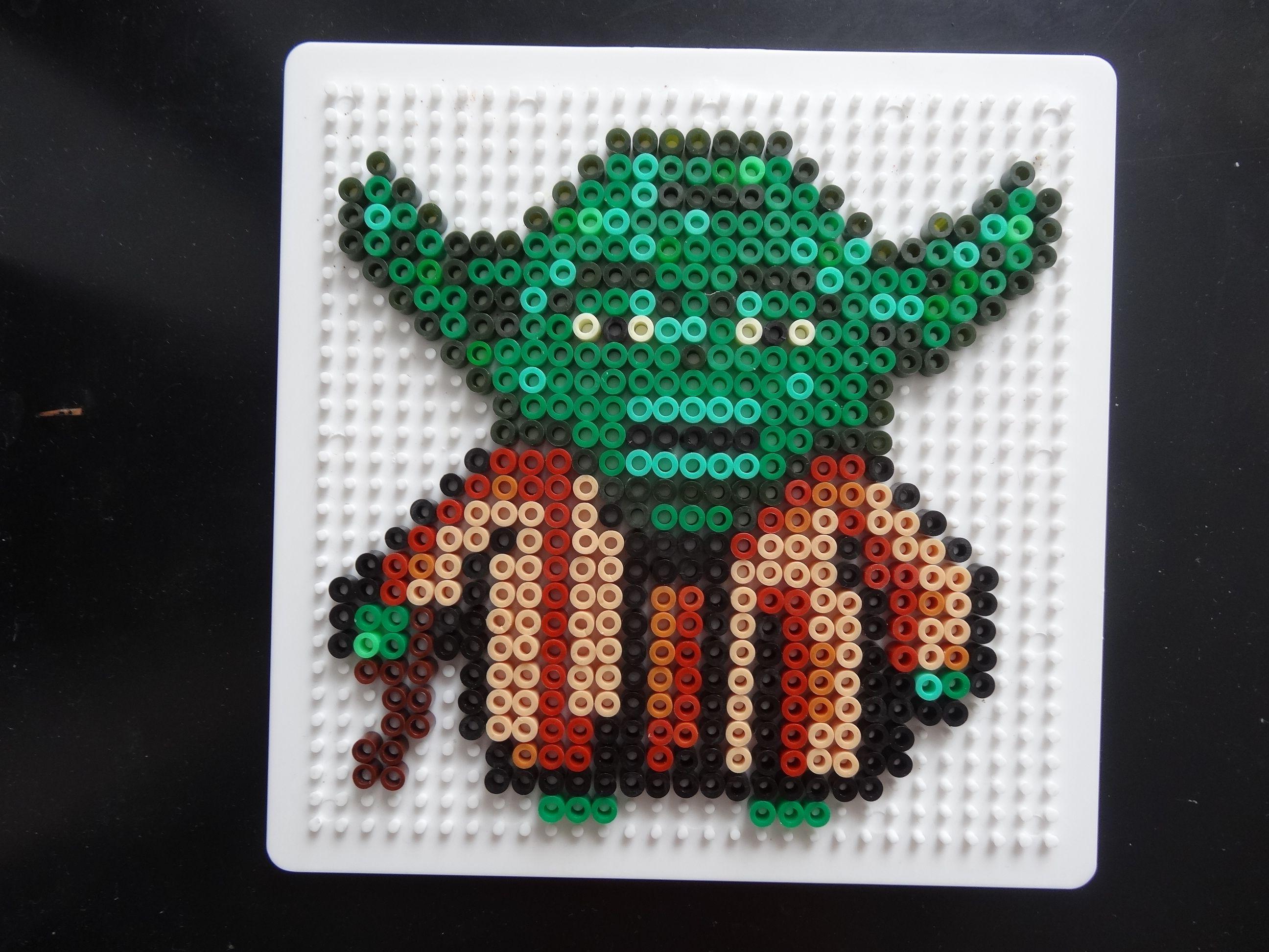 Yoda Star Wars hama beads by hubohu   Perler - Star Wars   Pinterest ...