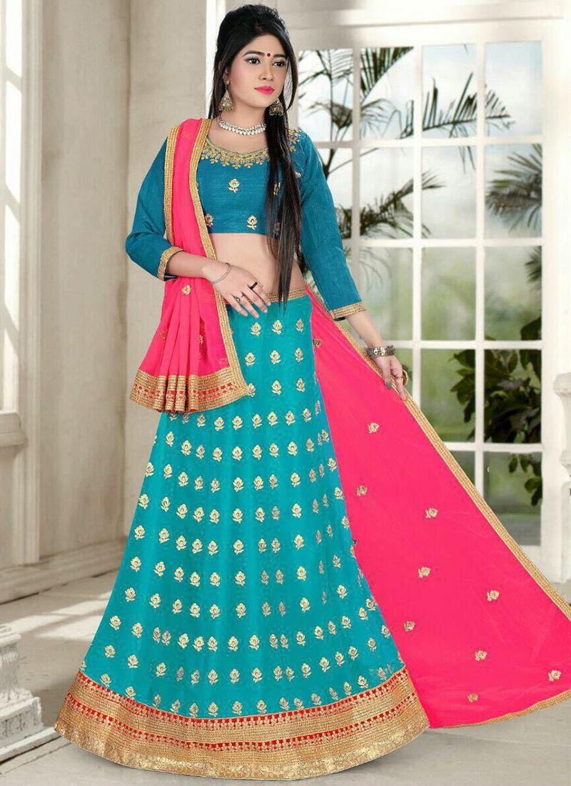 f94df0132f Multi color Designer Wedding Special Lehenga Choli Supplier From Surat