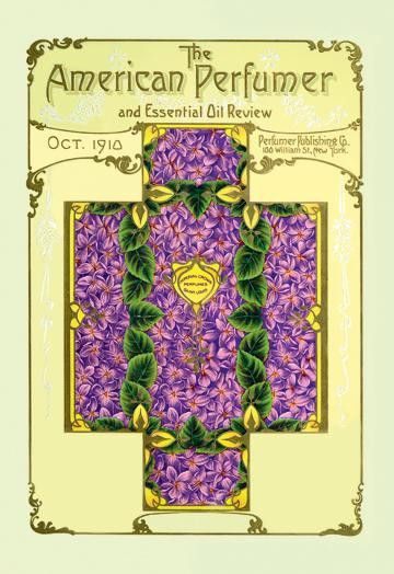 American Perfumer And Essential Oil Review October 1910 12x18 Giclee On Canvas Essential Oils Reviews Art Prints Vintage Stationery