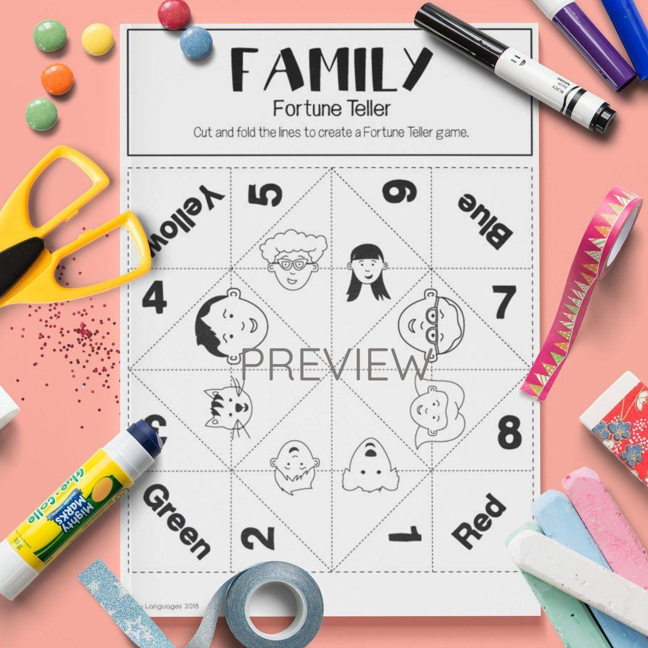 Family Craft Fortune Teller