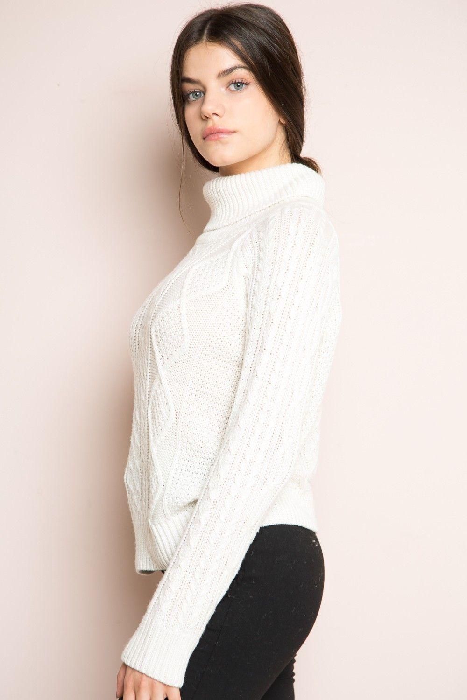 Brandy ♥ Melville | Sonia Turtleneck Sweater - Clothing