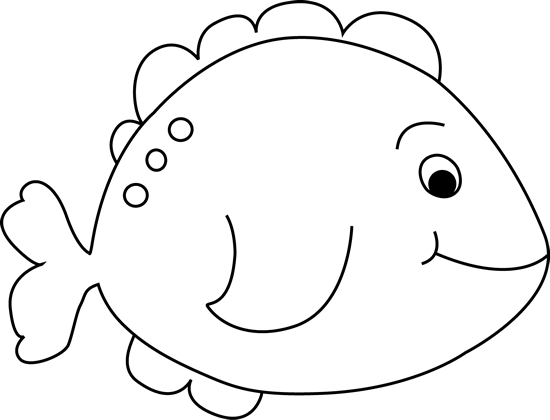 black and white little fish clip art image black and white outline rh pinterest com au