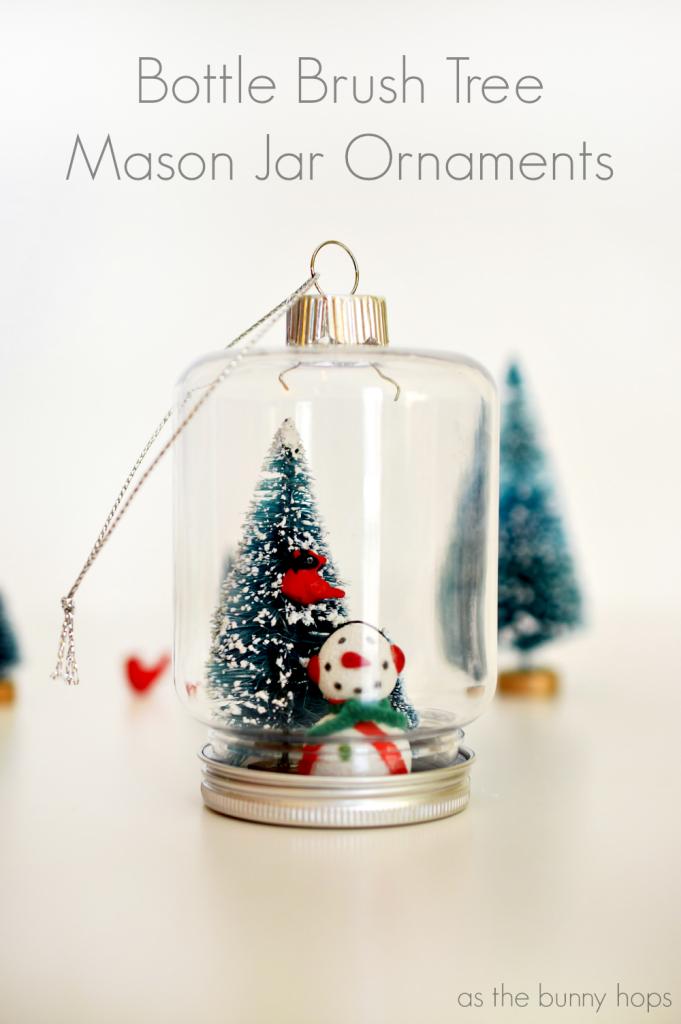 25 Mason Jar Christmas Ornaments Diy Projects Christmas Jars
