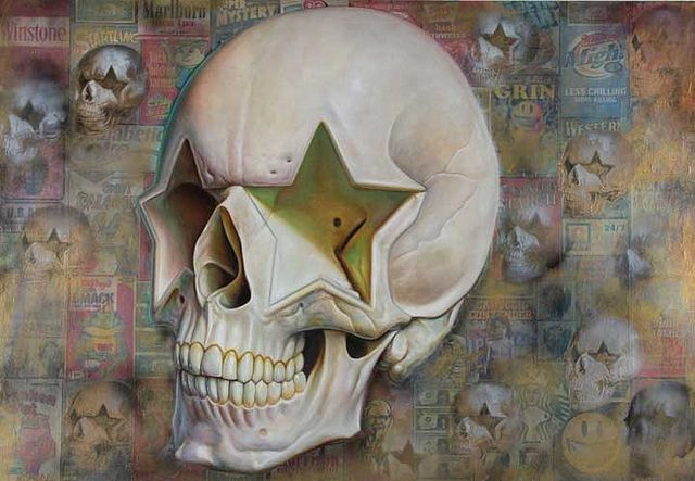 English-star skull street 52 x 76.ptg by Hi-Fructose Magazine, via Flickr