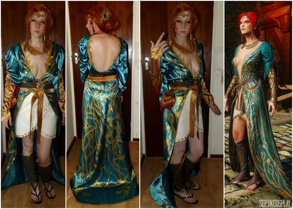 Alternate Look Triss Merigold Cosplay the Witcher by