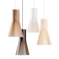 SECTO Pendant Light | Wooden pendant lighting, Pendant lamp