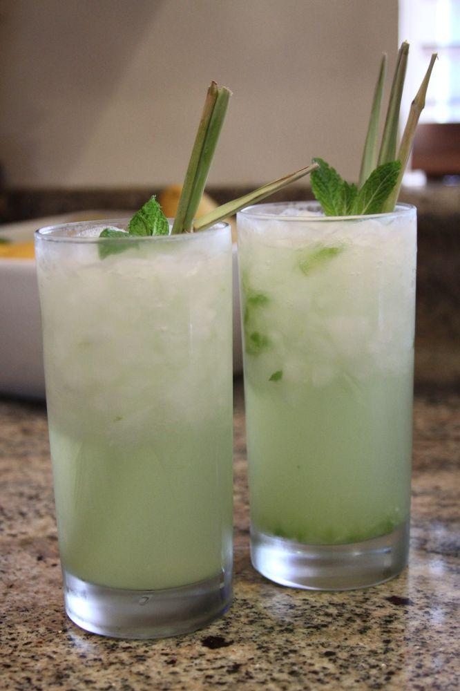 Cucumber Mint Vodka Cocktail