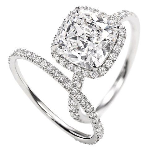 Dream engagement ring and wedding band!