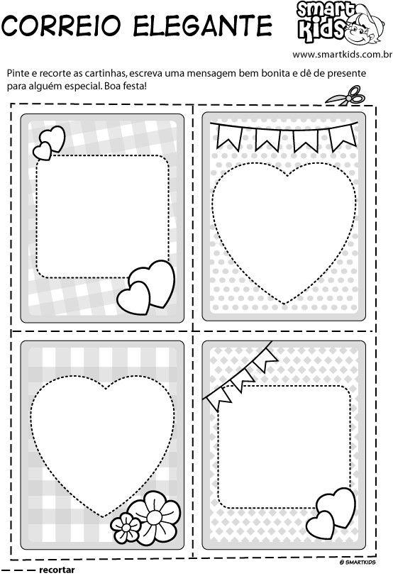 Correio Elegante Festa Junina Pinterest Paper Crafts