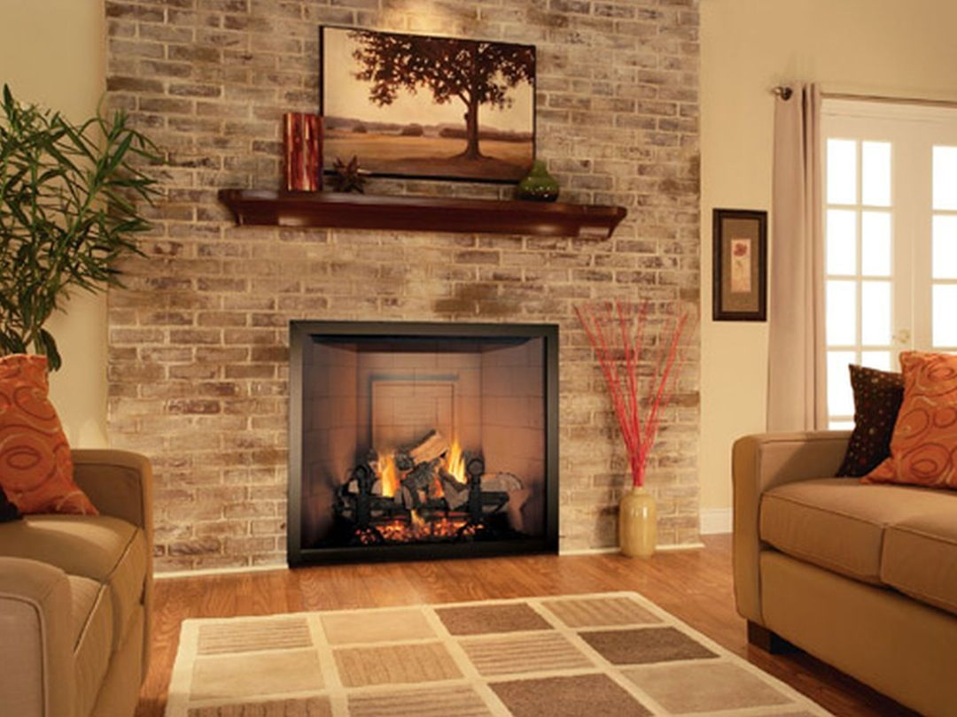 Image result for fireplace designs chevron basement remodel