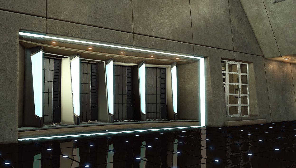 Iron Man House Interior. Figured i d start something new  Tony Stark s Malibu Home interior only Iron Man HouseIndustrial