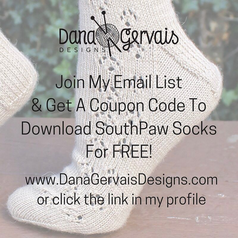 Did you know....I give you a free pattern when you join my email list?  Also I never spam you.  I only send 2 emails per month.