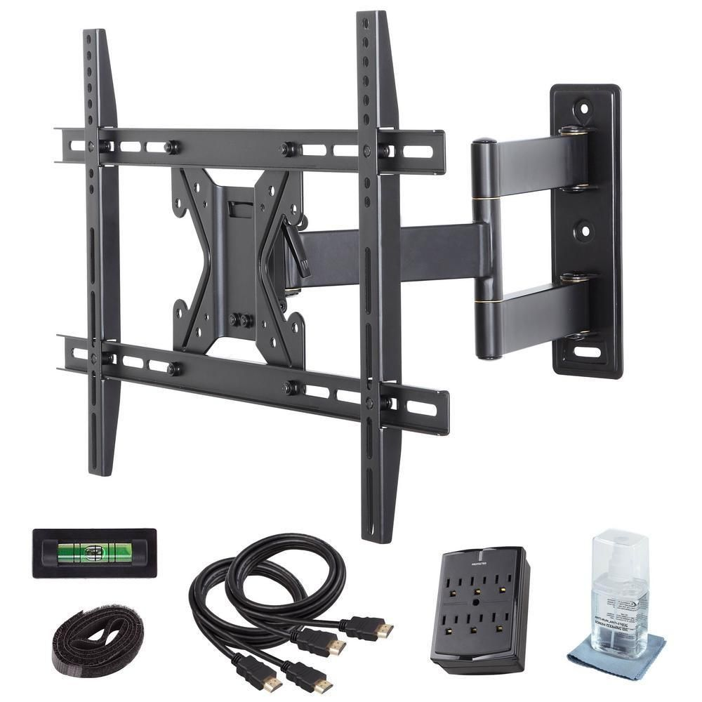 Commercial Electric Full Motion TV Wall Mount Kit For 26 In.   70 In.