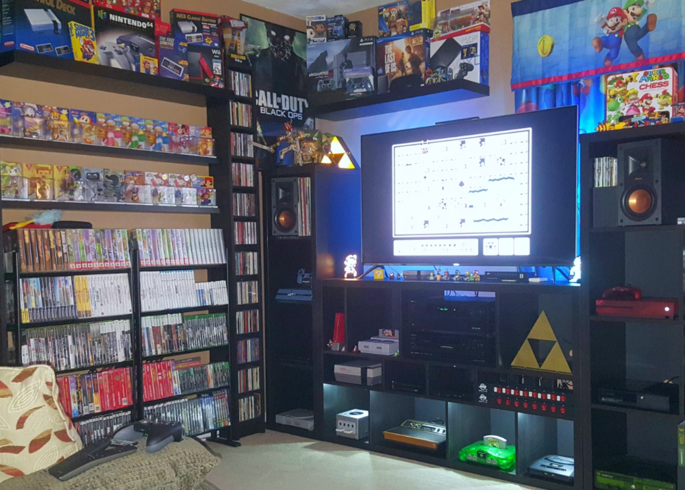 Retro Video Games Room Storage Ideas Retro Games Room Game Room Video Game Rooms These living room shelving ideas will give you maximum storage space no matter how big or small the room. retro video games room storage ideas